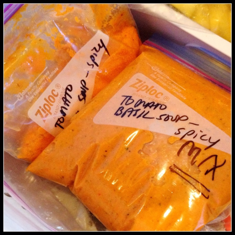 Soup in the Freezer