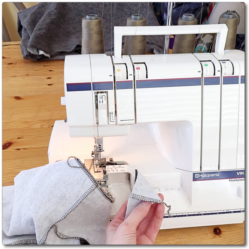 Sewing With The Serger