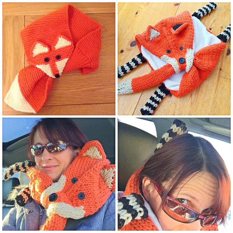 Fox Scarf Comparisons