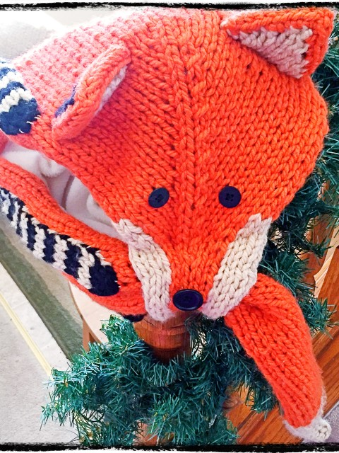 Finished Foxy Scarf