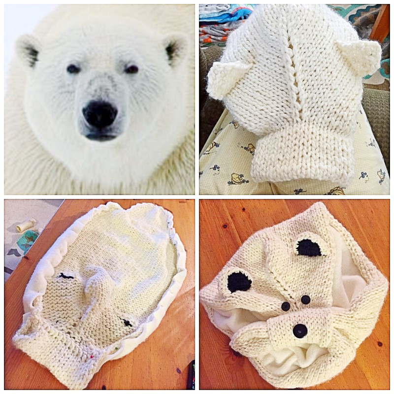 Planning A Polar Bear Scarf