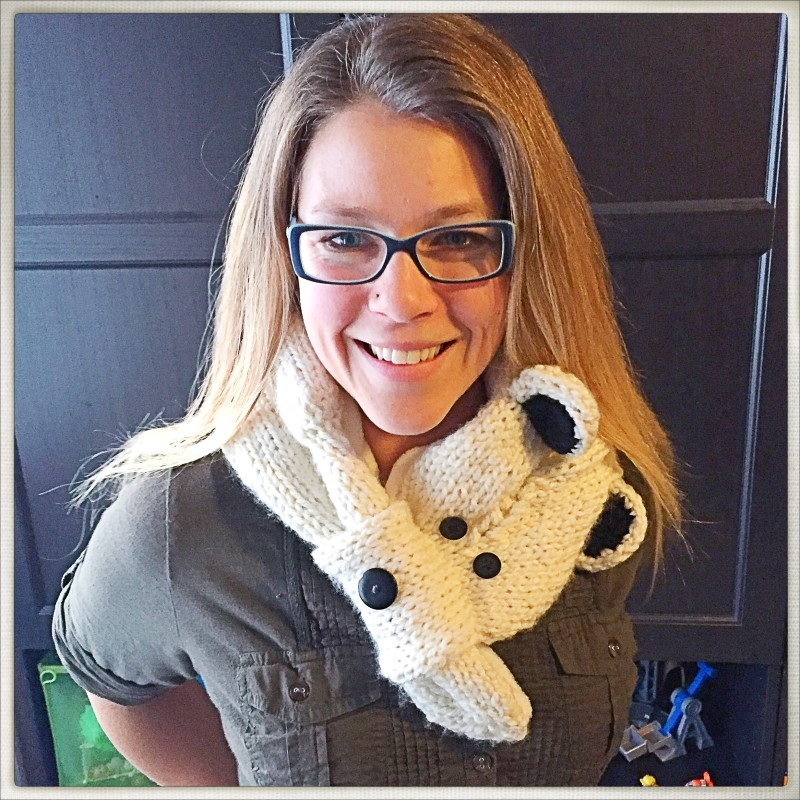 Polar Bear Scarf