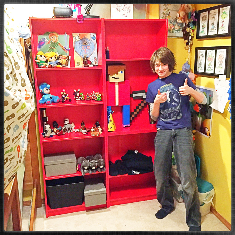 New Monkeyboy Jr. Shelves