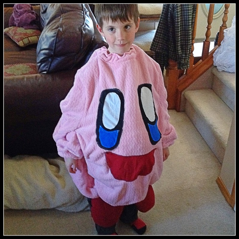 Handmade Kirby Costume by KateWares