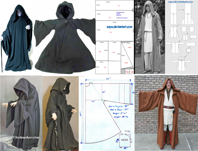 Palpatine Robe Ideas