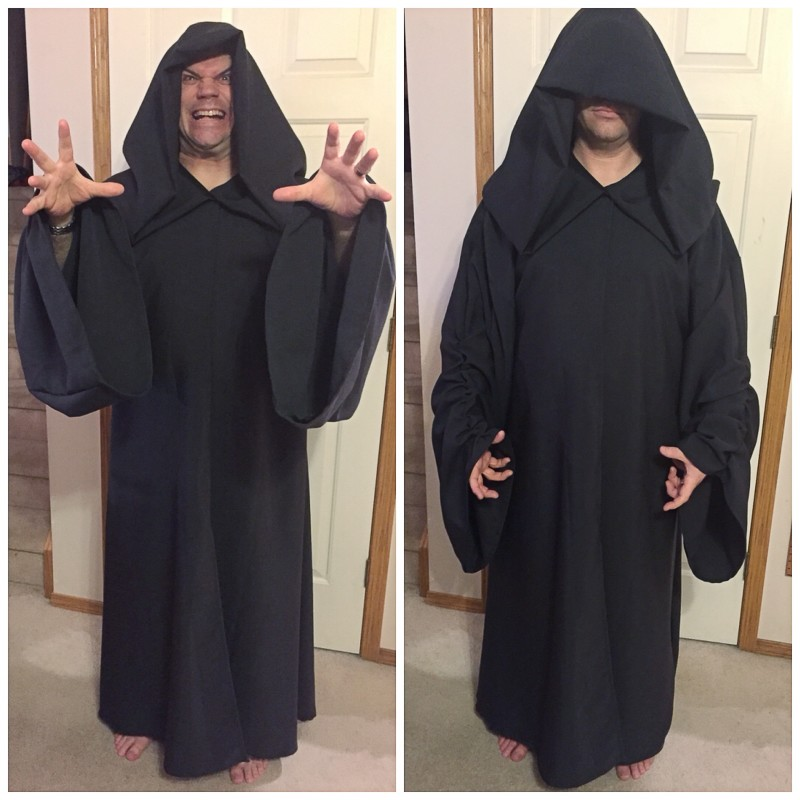 My Finished Palpatine Robe