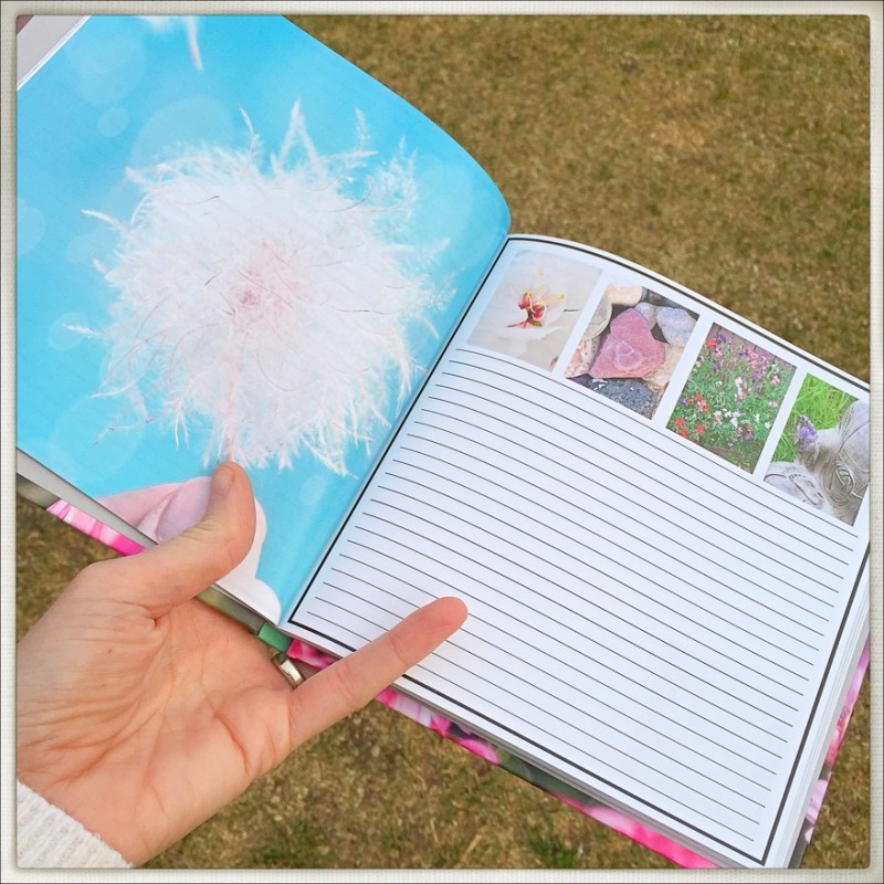 KateWares Garden Journal Make A Wish Page