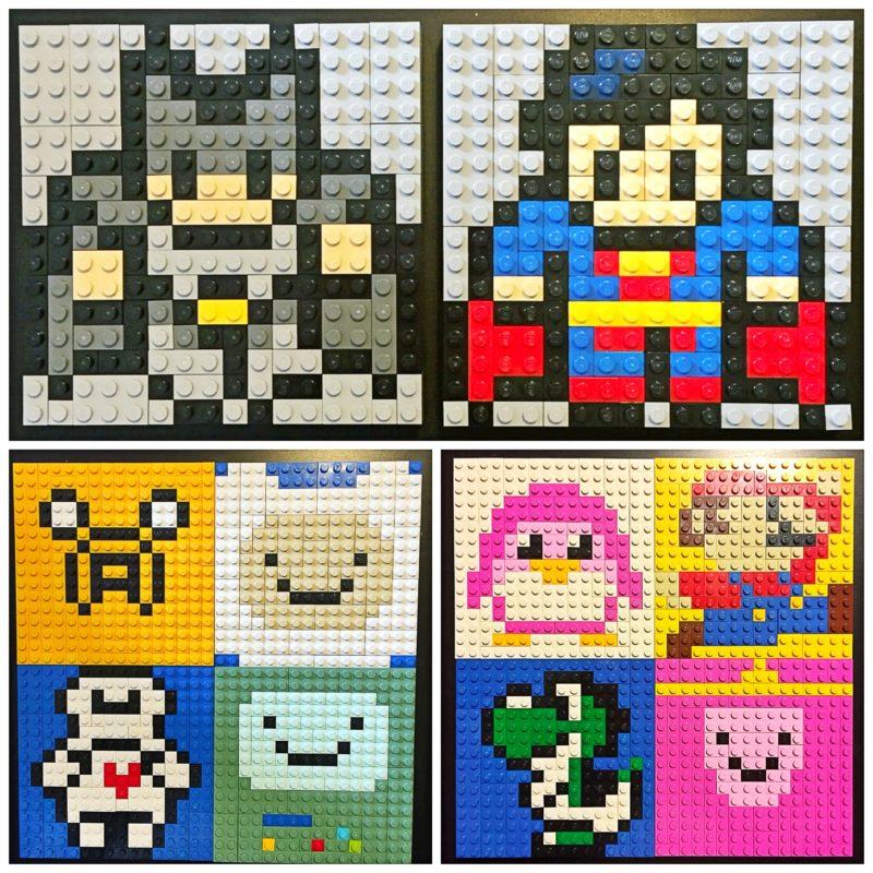 Mini Lego Mosaics