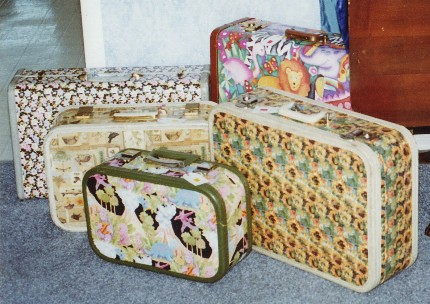 Suitcases Grouped